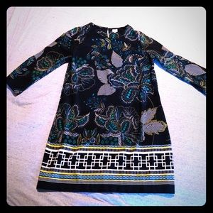 Crown & Ivy long sleeved shift dress. Size 14